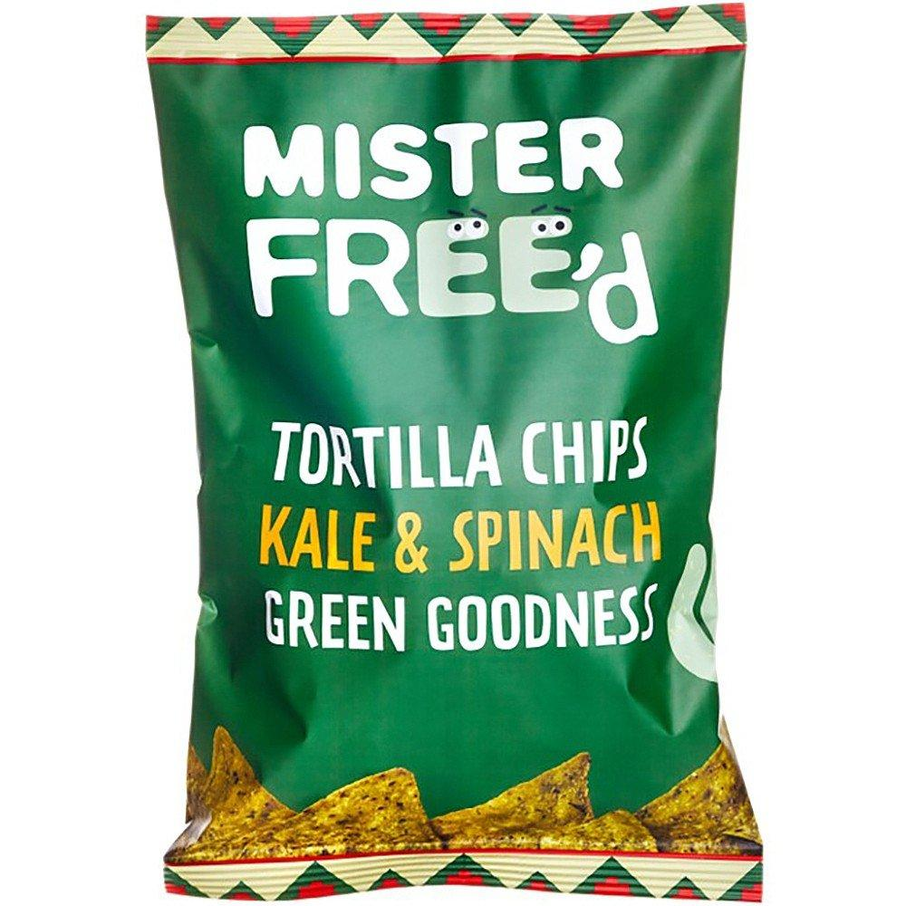 Mister FreeD Tortilla Chips with Kale and Spinach 135g