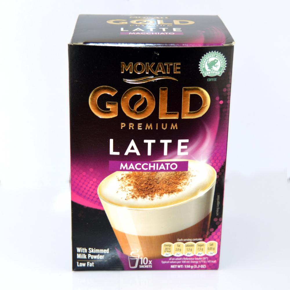 Mokate Gold Premium Latte Macchiato 10 Sachets
