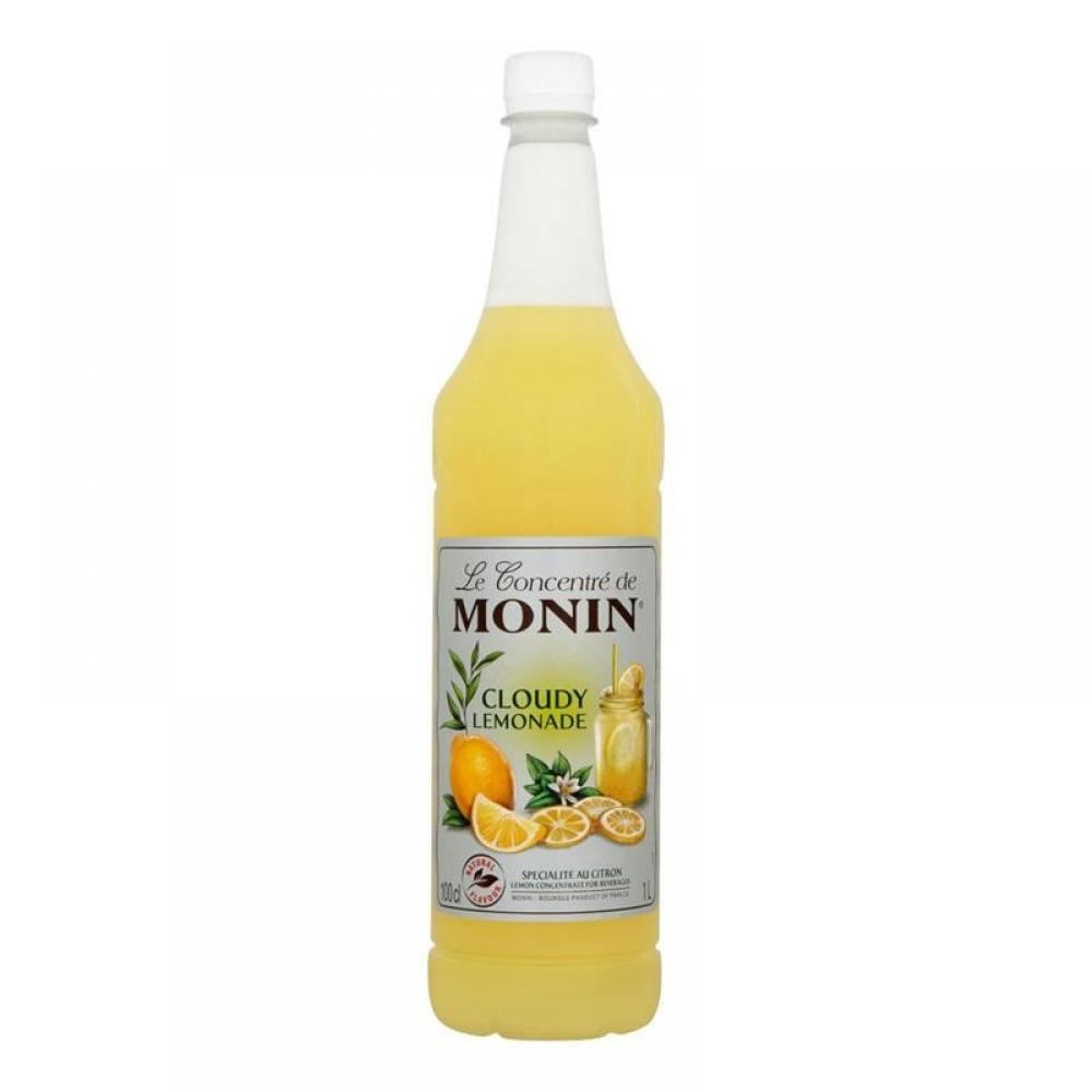 Monin Cloudy Lemonade Concentrate For Beverages 1 Litre