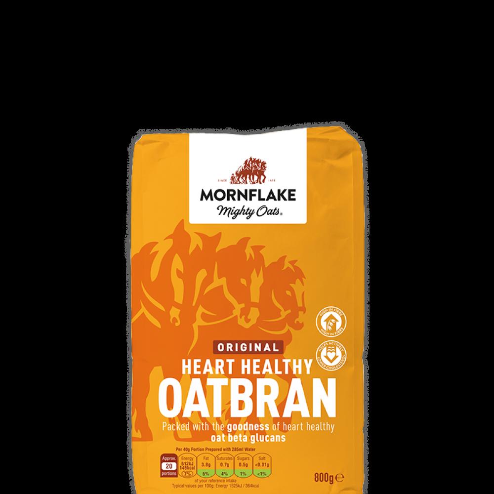 Mornflake Mighty Oats Oatbran 800g