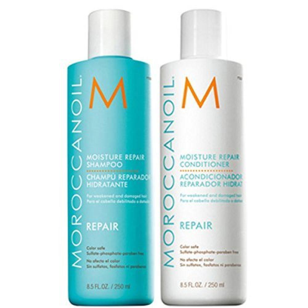 MoroccanOil Moisture Repair Shampoo and Conditioner 250 ml each No Box