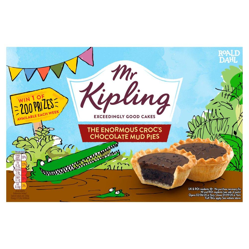 Mr Kipling 6 Chocolate Mud Pies