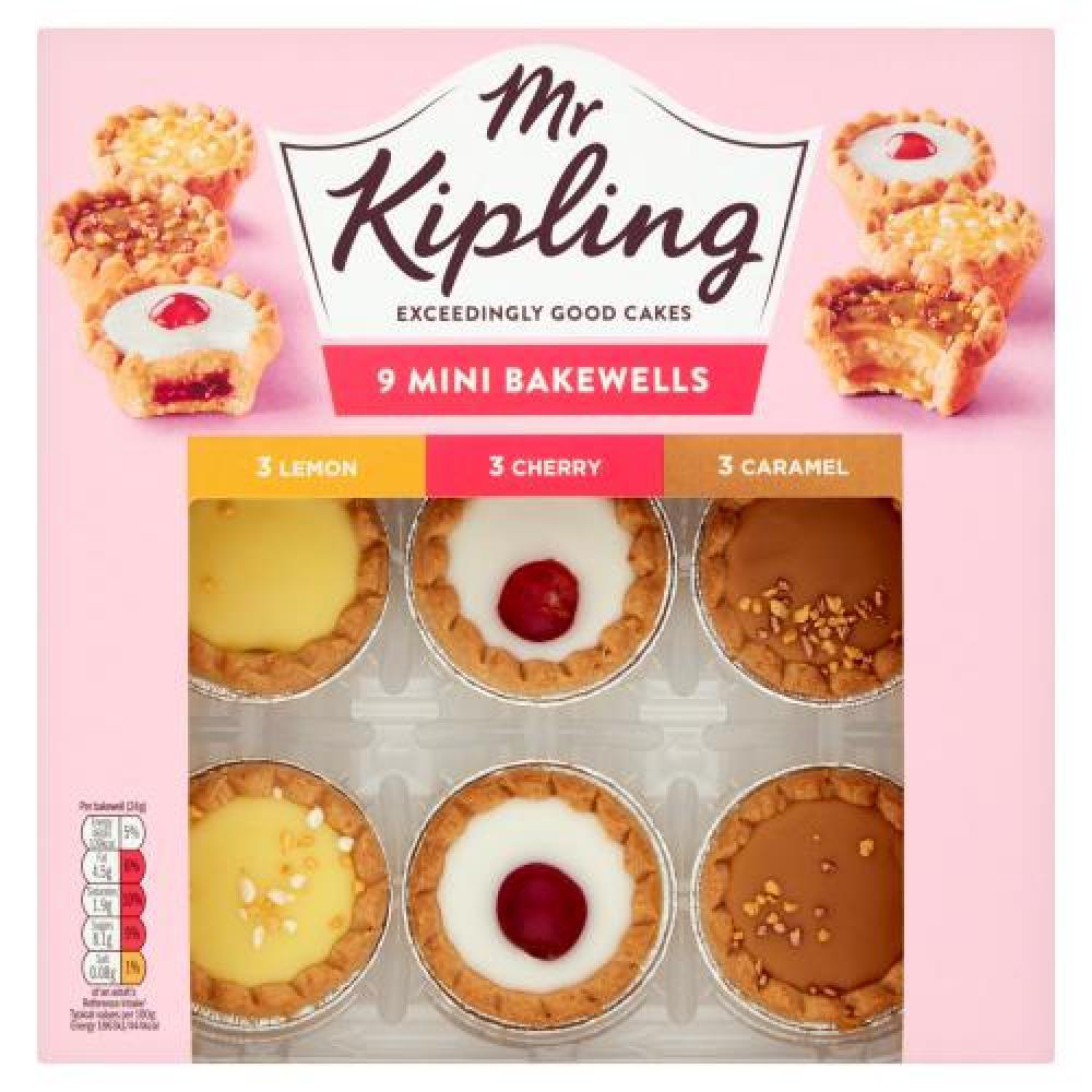 Mr Kipling 9 Mini Bakewells