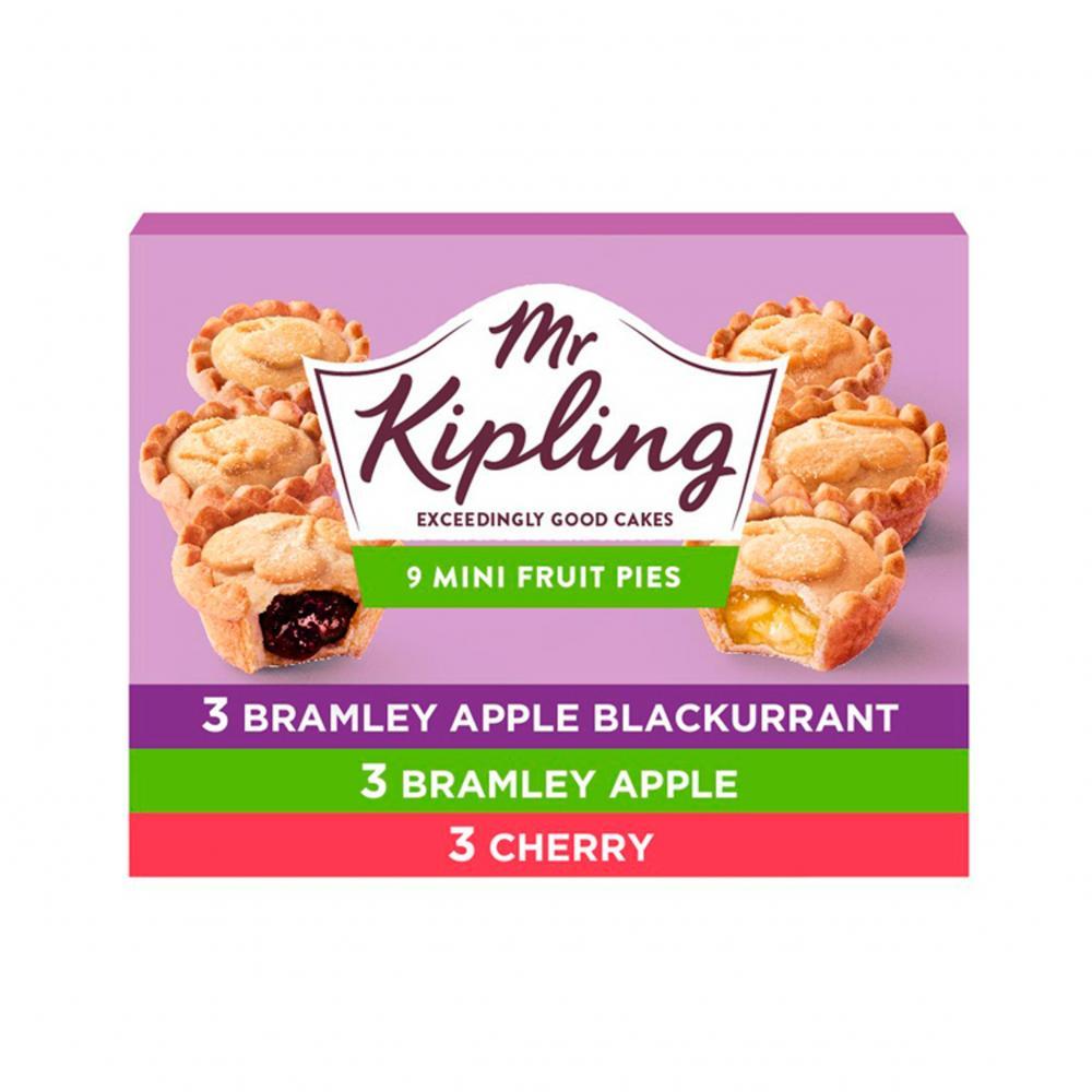 Mr Kipling 9 Mini Fruit Pies