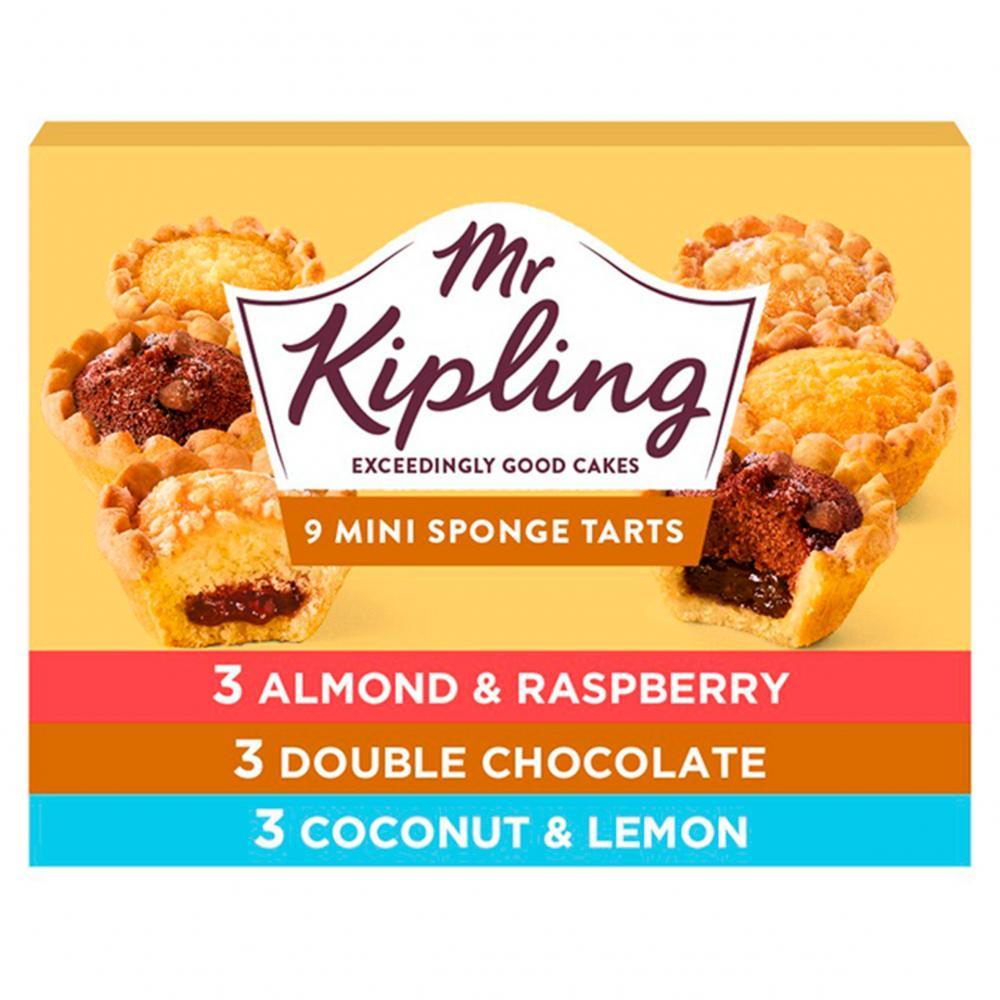 Mr Kipling 9 Mini Sponge Tarts