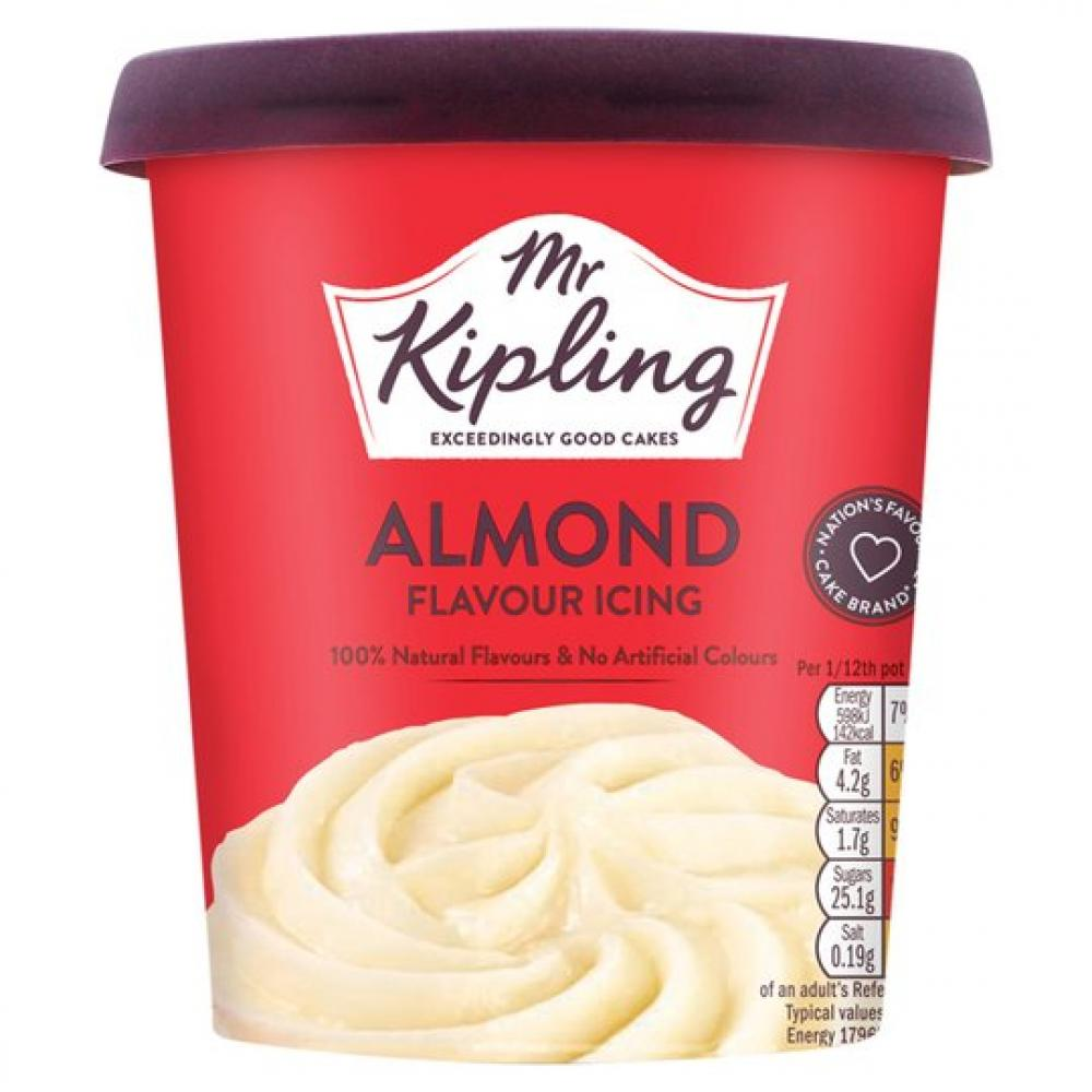Mr Kipling Almond Flavour Icing 400g