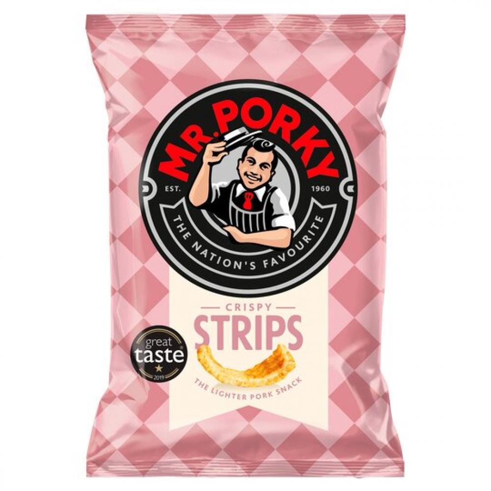 Mr Porky Crispy Strips 35g