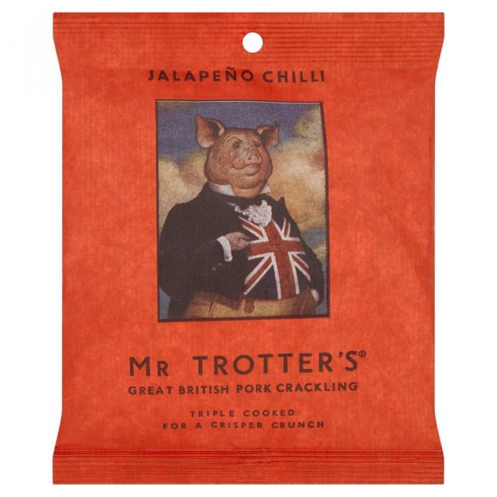 Mr Trotters Jalapeno Chilli Pork Crackling 40g