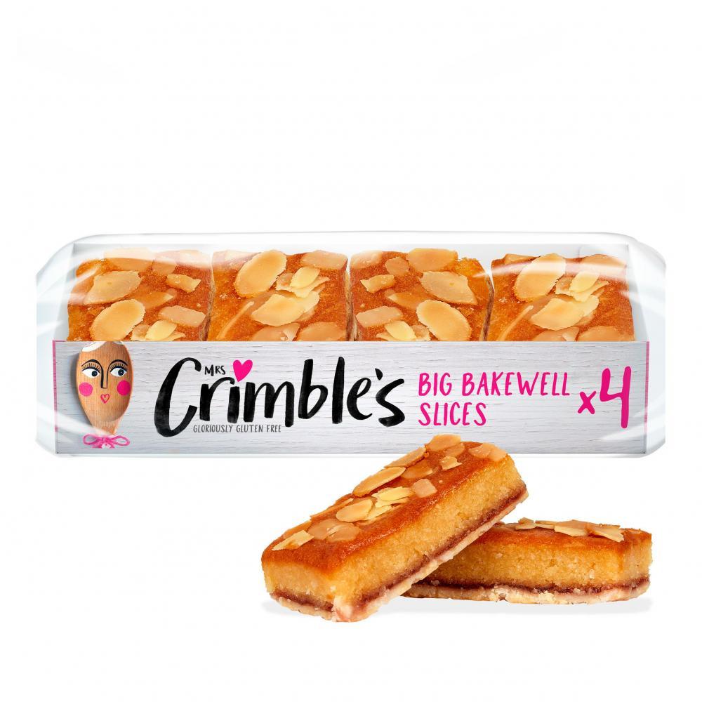 SALE  Mrs Crimbles 4 Big Bakewell Slices