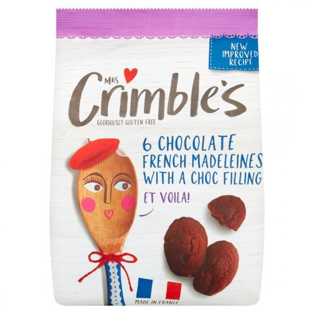 Mrs Crimbles 6 Chocolate French Madeleines 170g