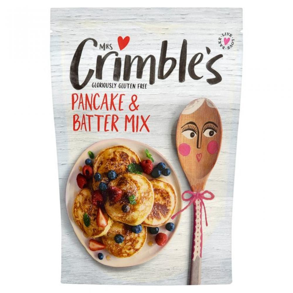Mrs Crimbles Gluten Free Pancake and Batter Mix 200g
