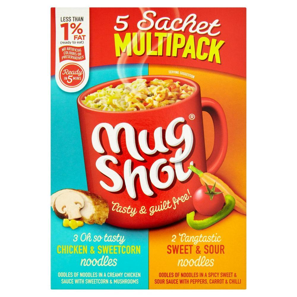 Mug Shot 5 Sachets Variety Pack