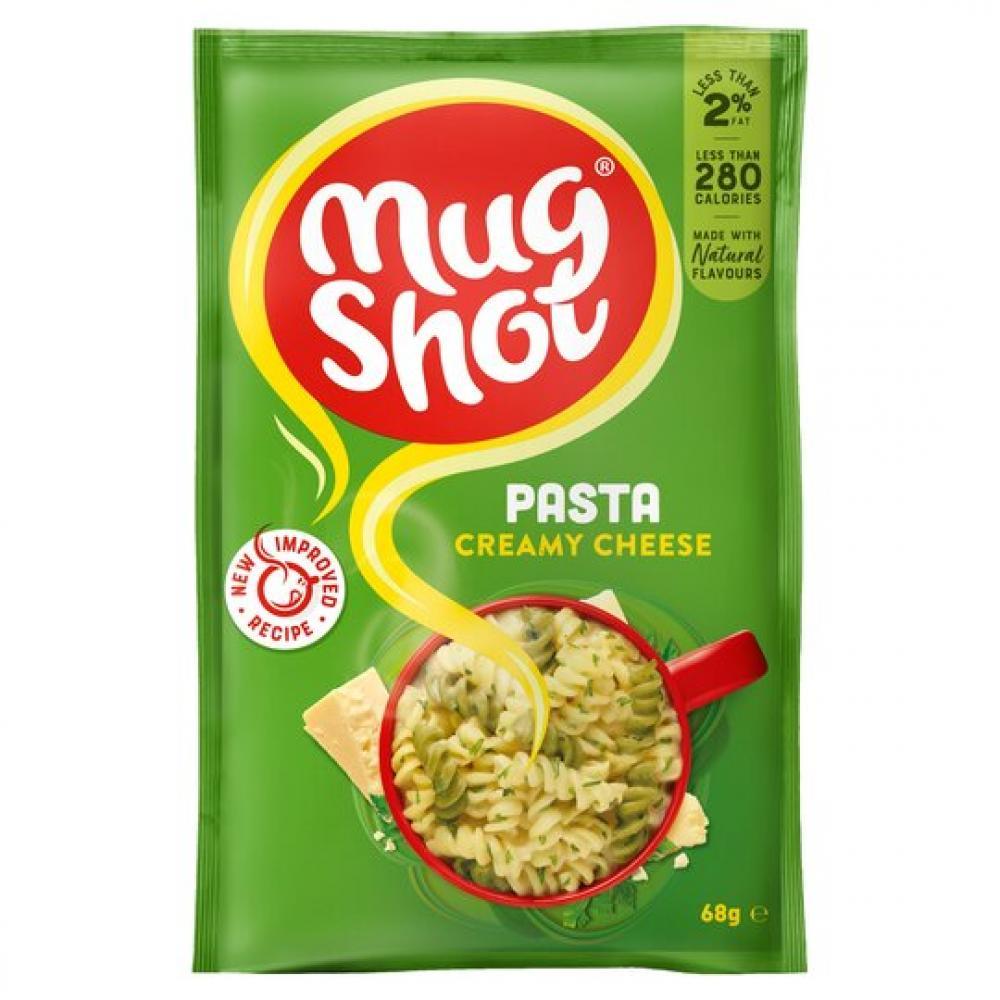 Mug Shot Pasta Creamy Cheese 68g