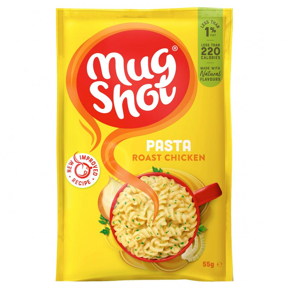 Mug Shot Pasta Roast Chicken 55g