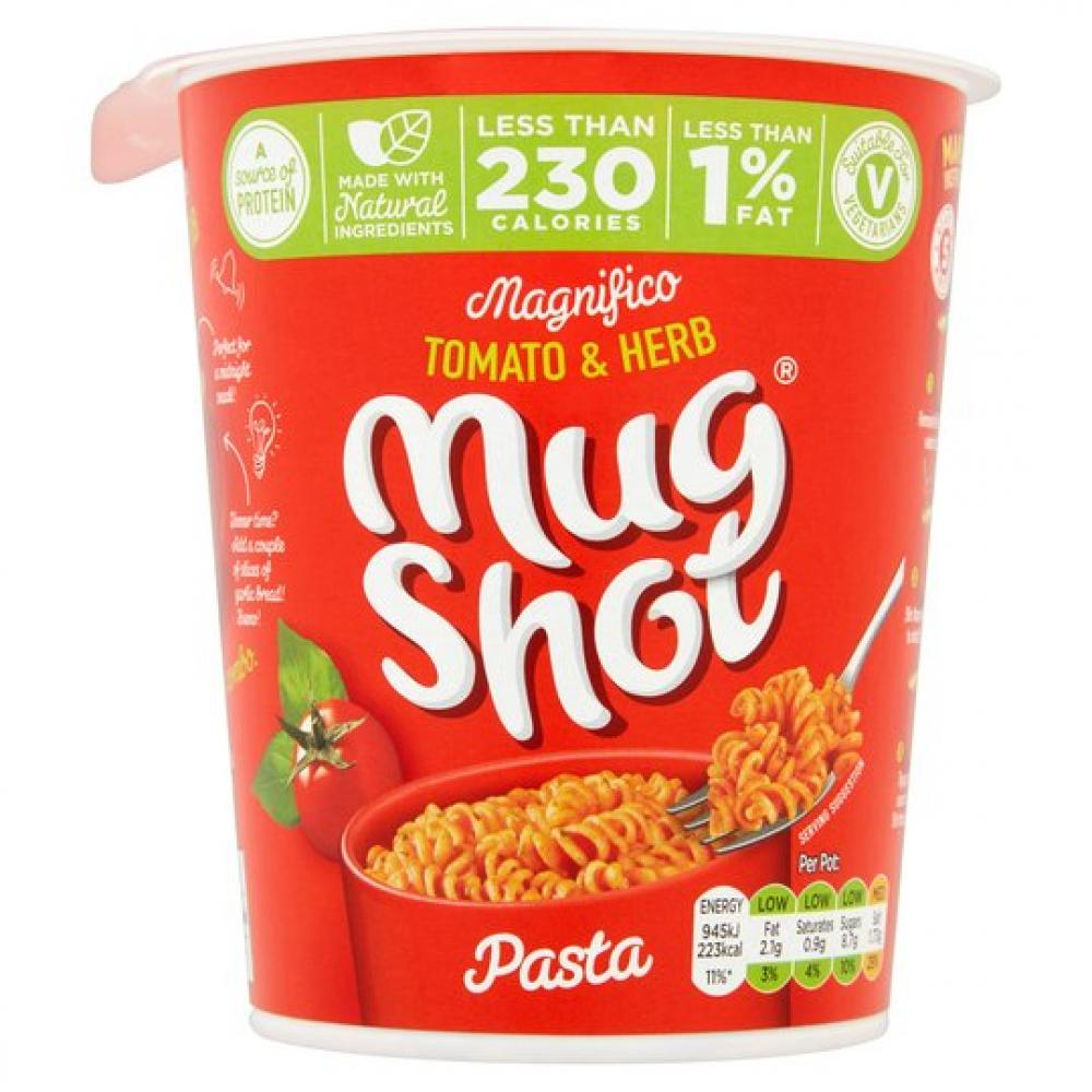 Mug Shot Tomato and Herb Pasta Pot 64g