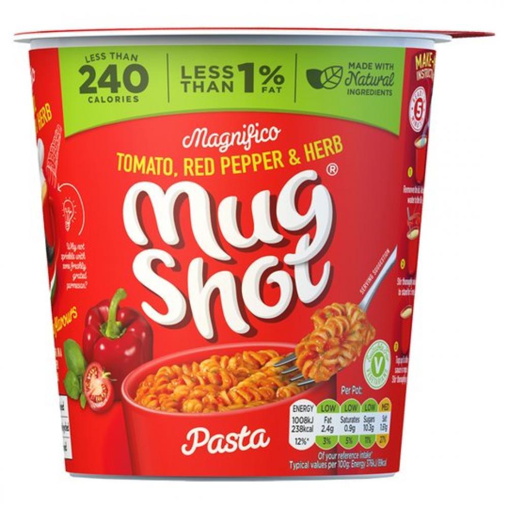 Mug Shot Tomato Red Pepper and Herb 68g