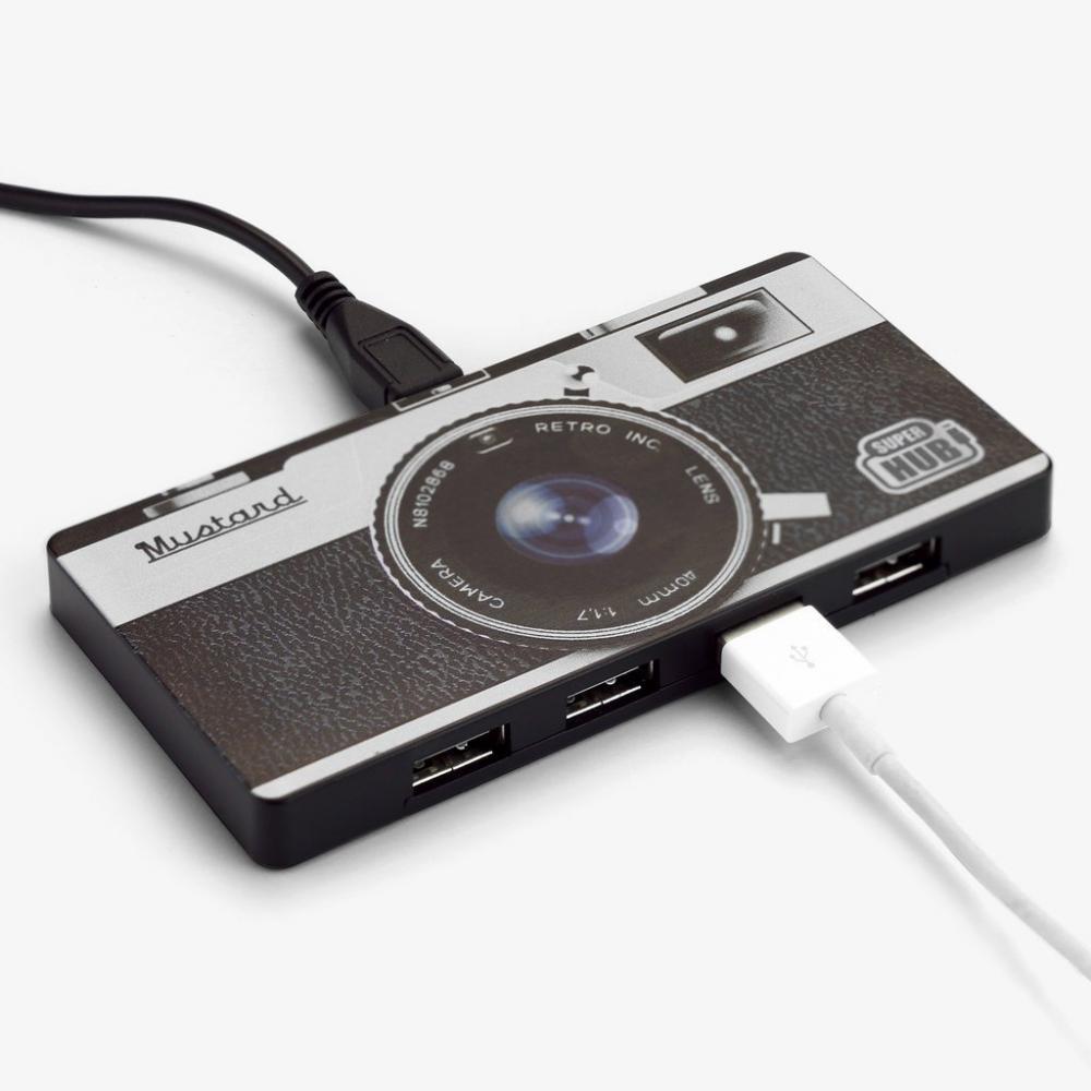 Mustard Super USB Hub Camera