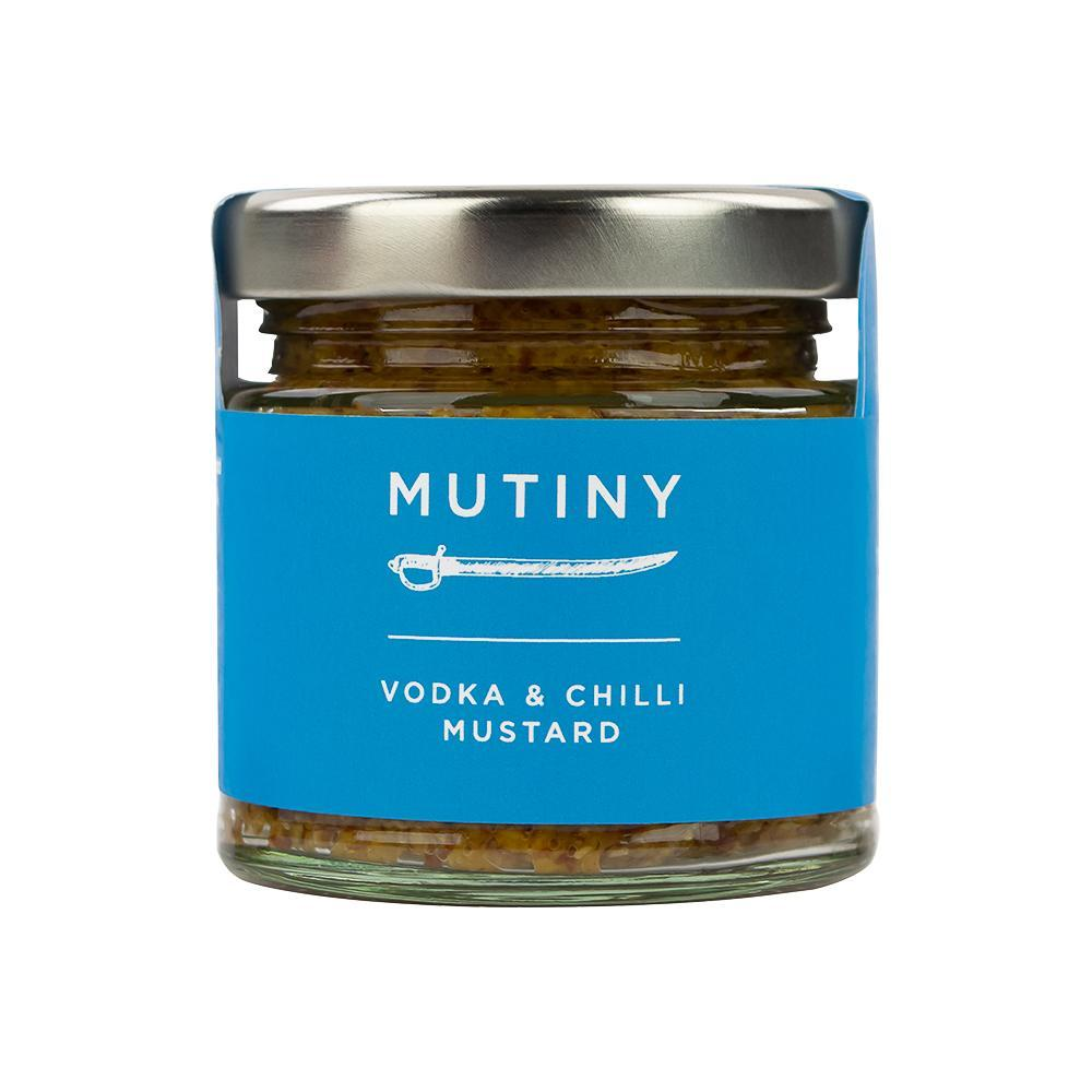 Mutiny Vodka and Chilli Mustard 125g