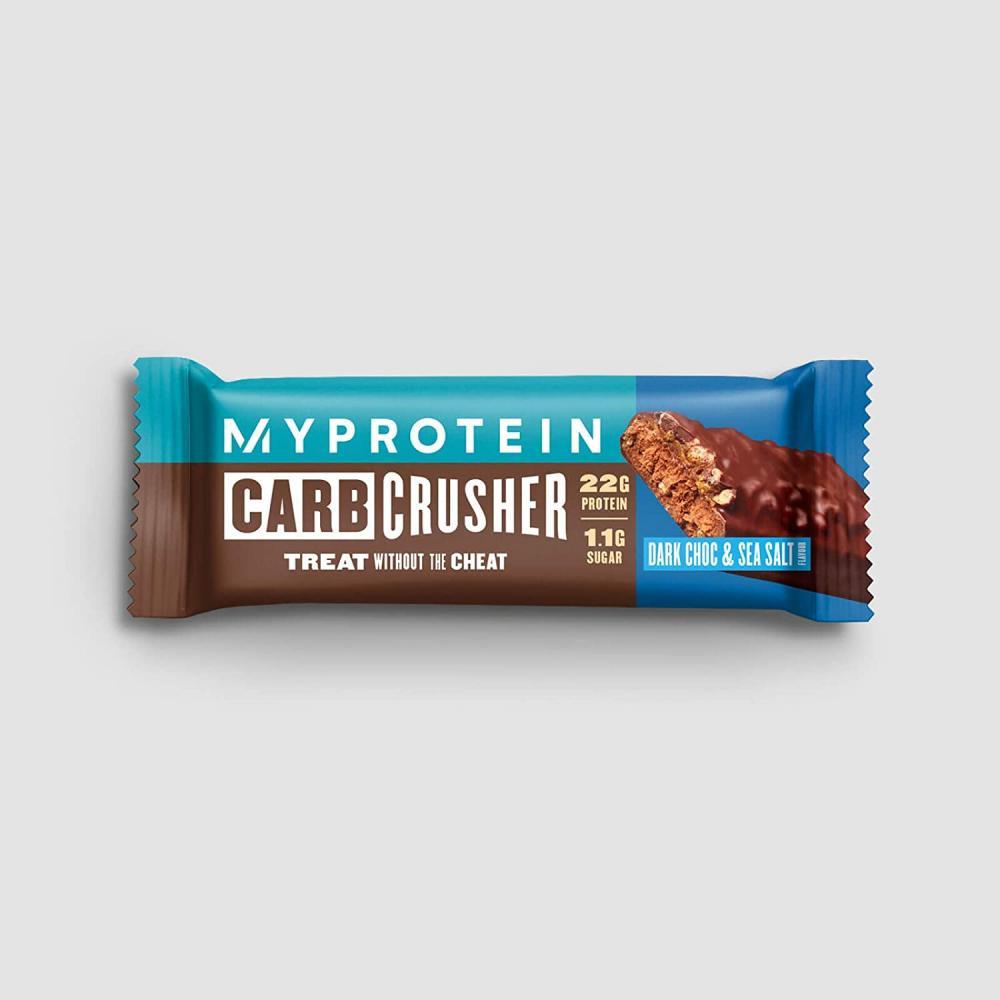 MY PROTEIN Carb Crusher Dark Chocolate and Sea Salt Bar 64 g