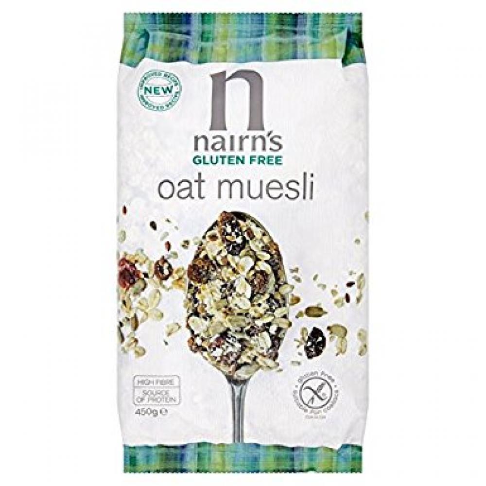 Nairns Gluten Free Oat Muesli 450 g