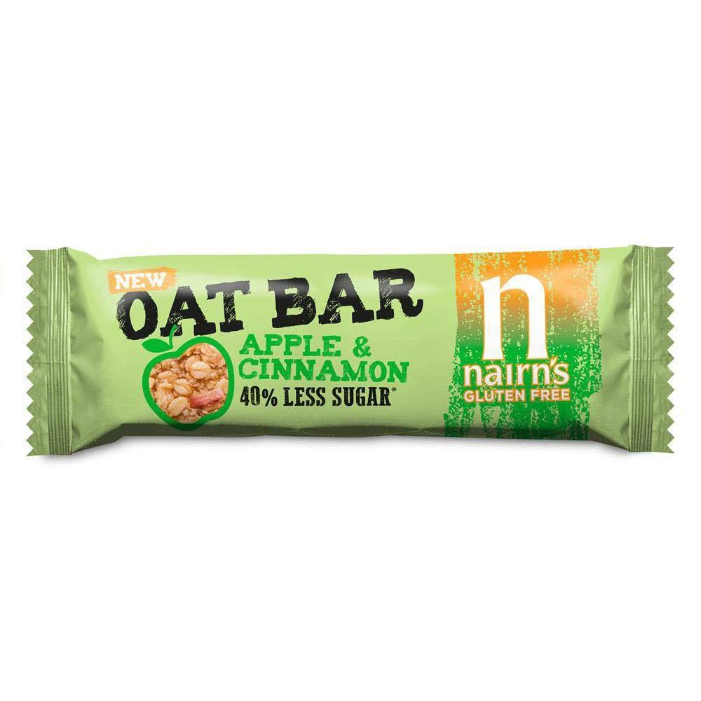 Nairns Gluten-Free Apple and Cinnamon Oat Bar 40g