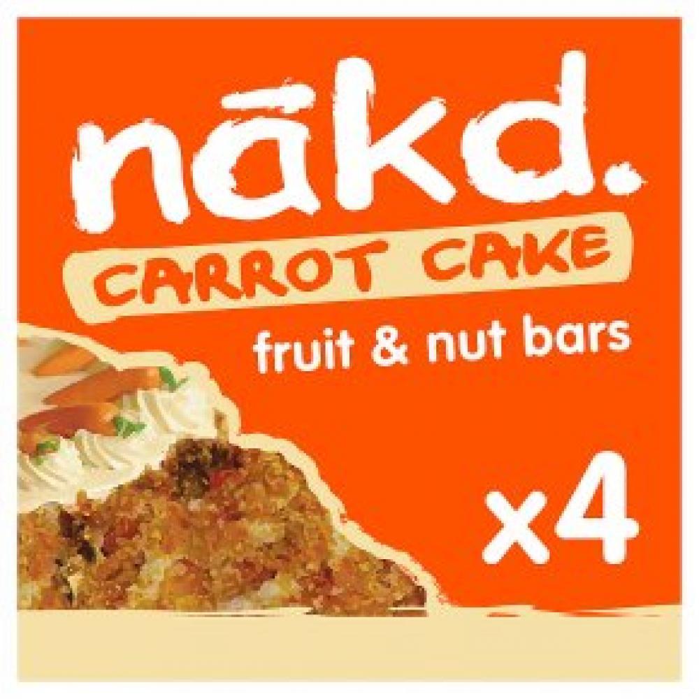 Nakd Carrot Cake 4x35g