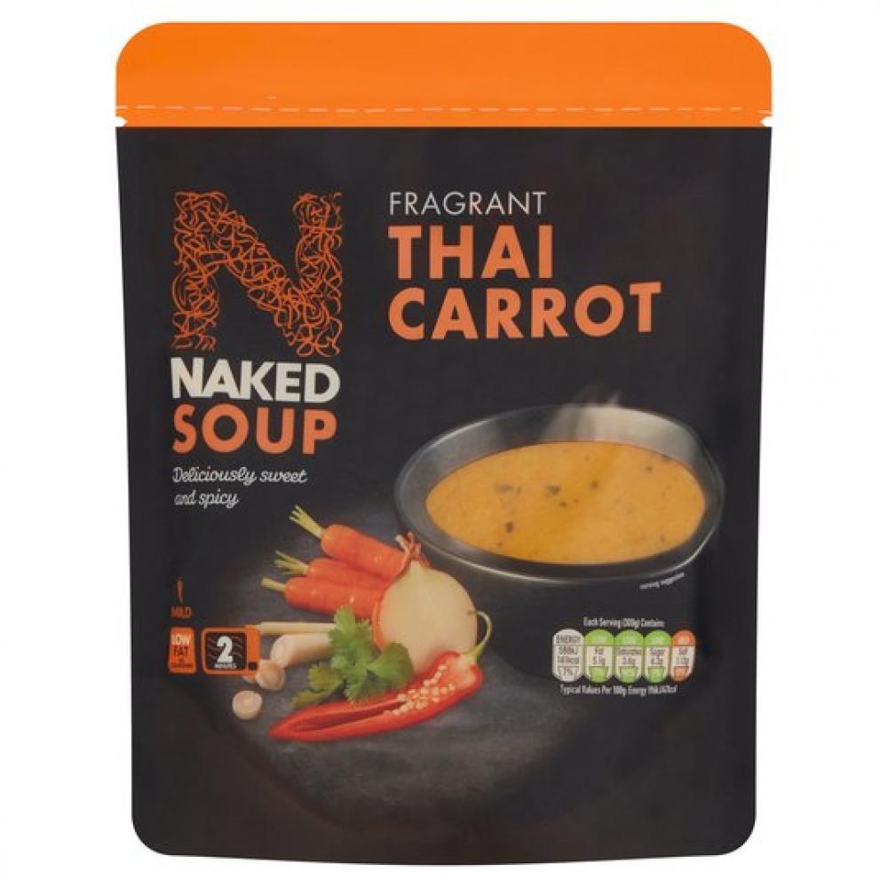 Nakd Soup Fragrant Thai Carrot 300g