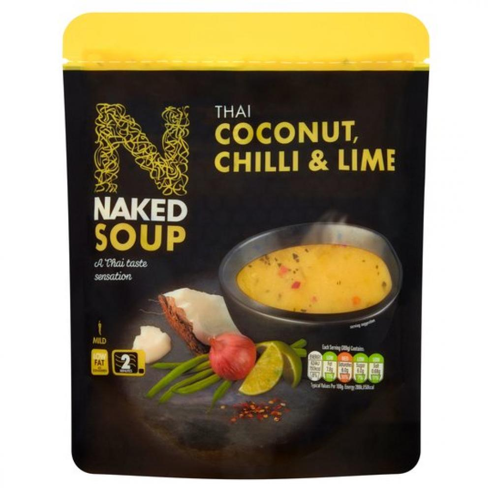 Nakd Soup Thai Coconut Chilli and Lime 300g