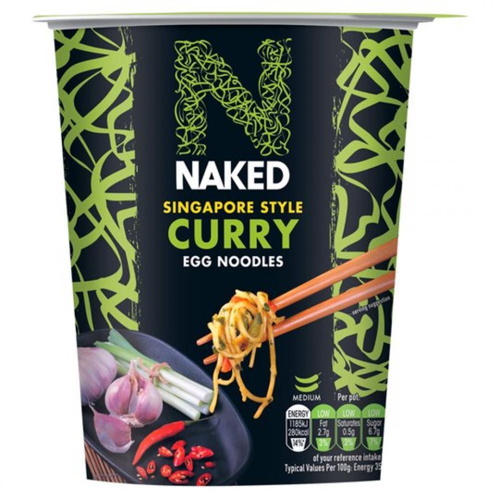 Naked Noodle Egg Noodles Singapore Curry 78g