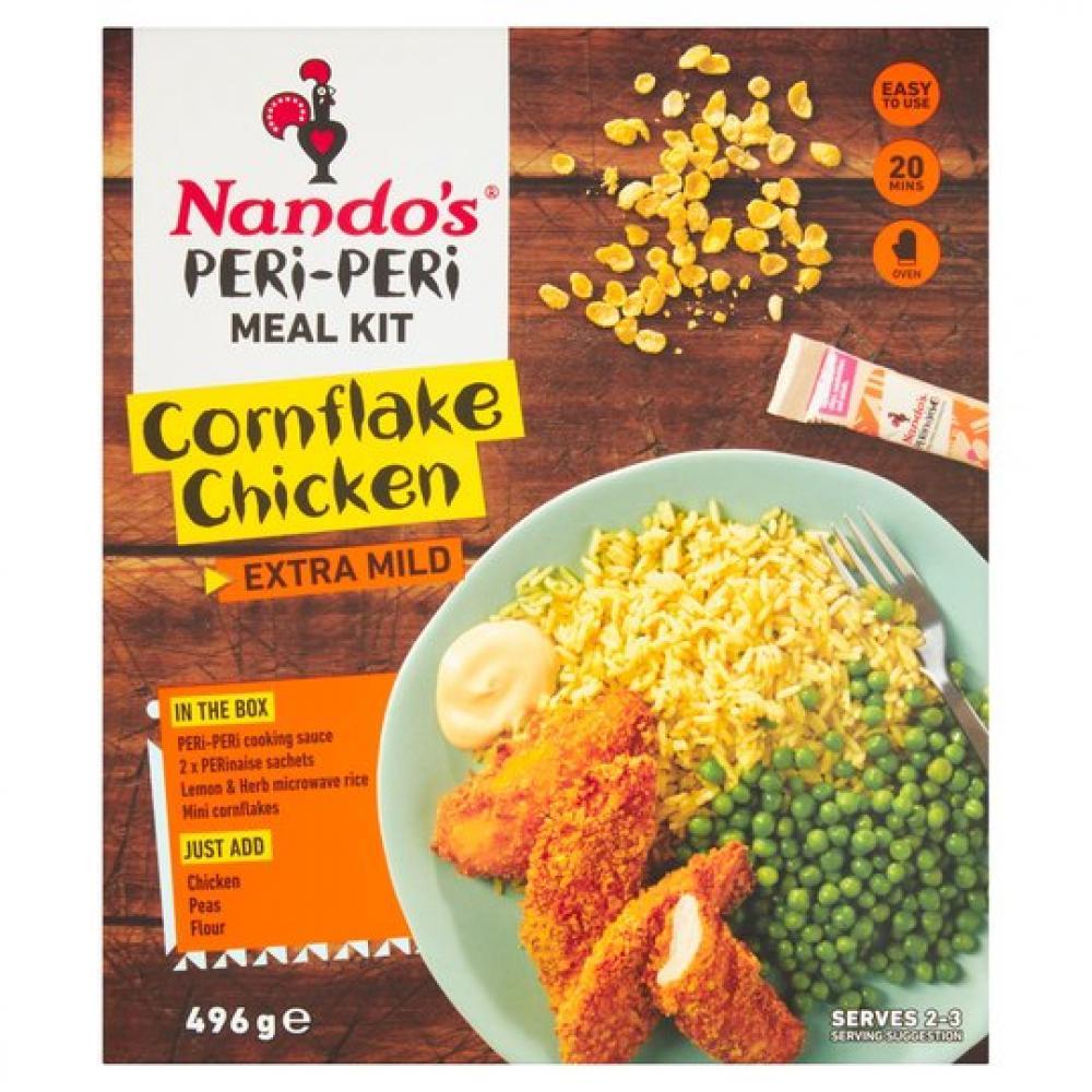 Nandos Peri Peri Meal Kit Cornflake Chicken 496g