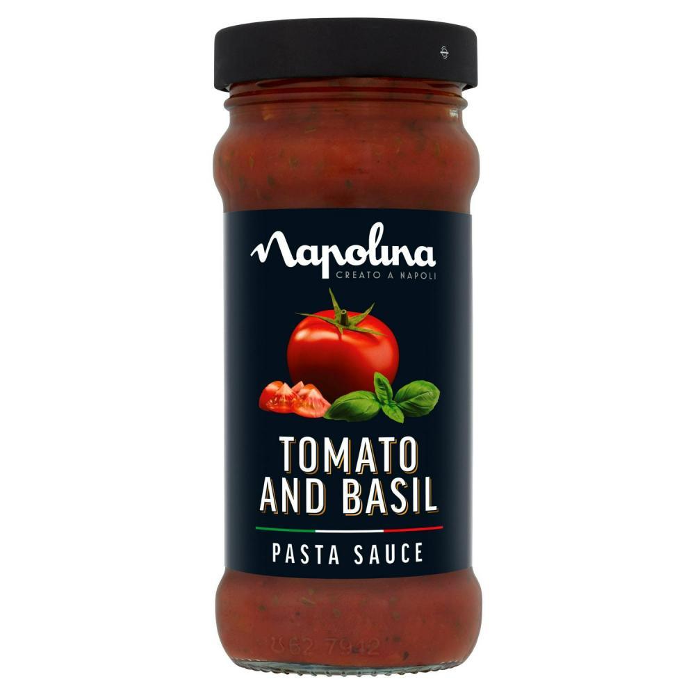 Napolina Tomato and Basil Pasta Sauce 350g