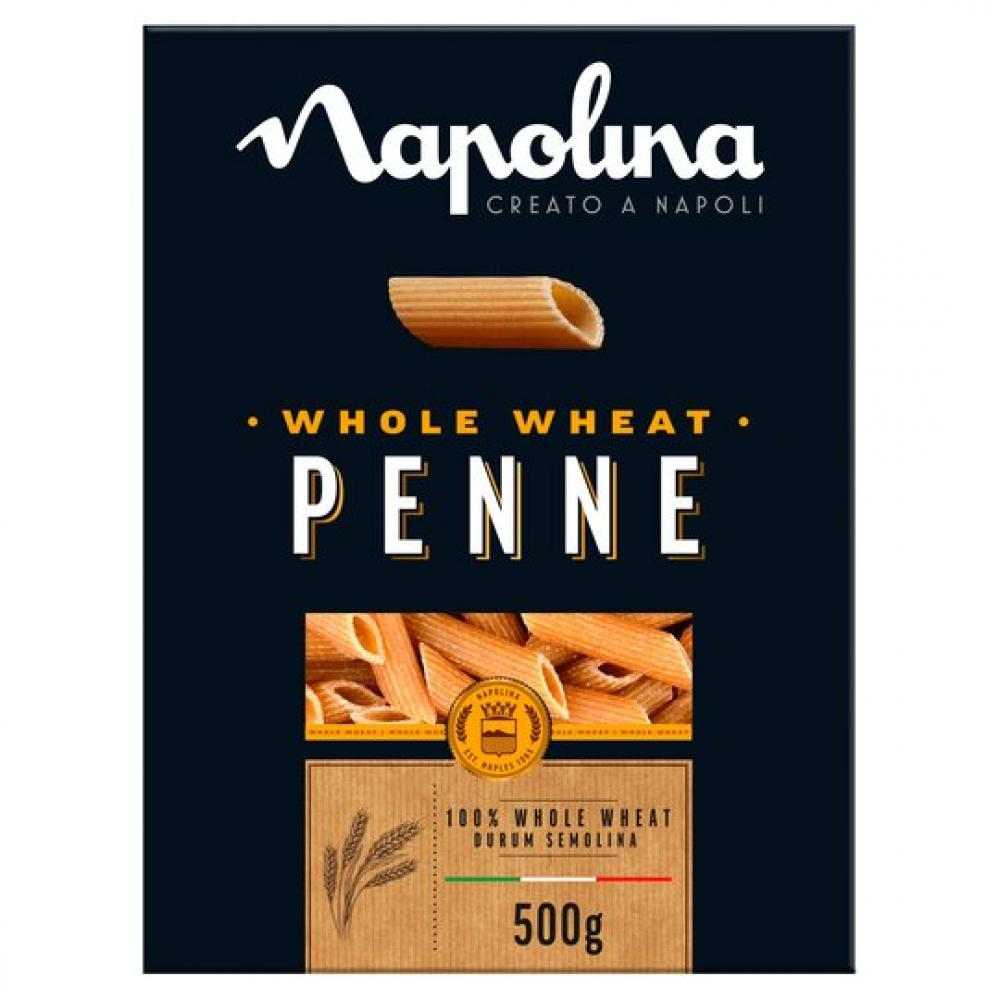 Napolina Wholewheat Penne Pasta 500g