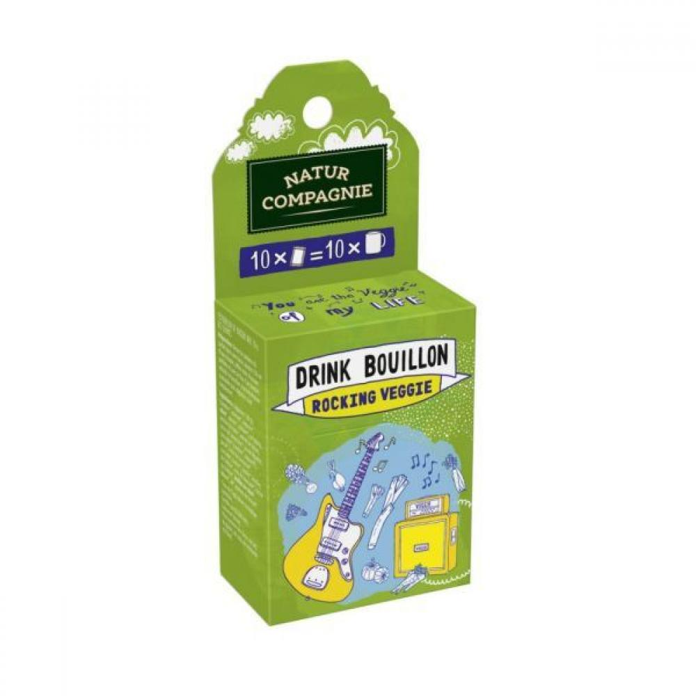 Natur Compagnie Drink Bouillon Rocking Veggie 50g