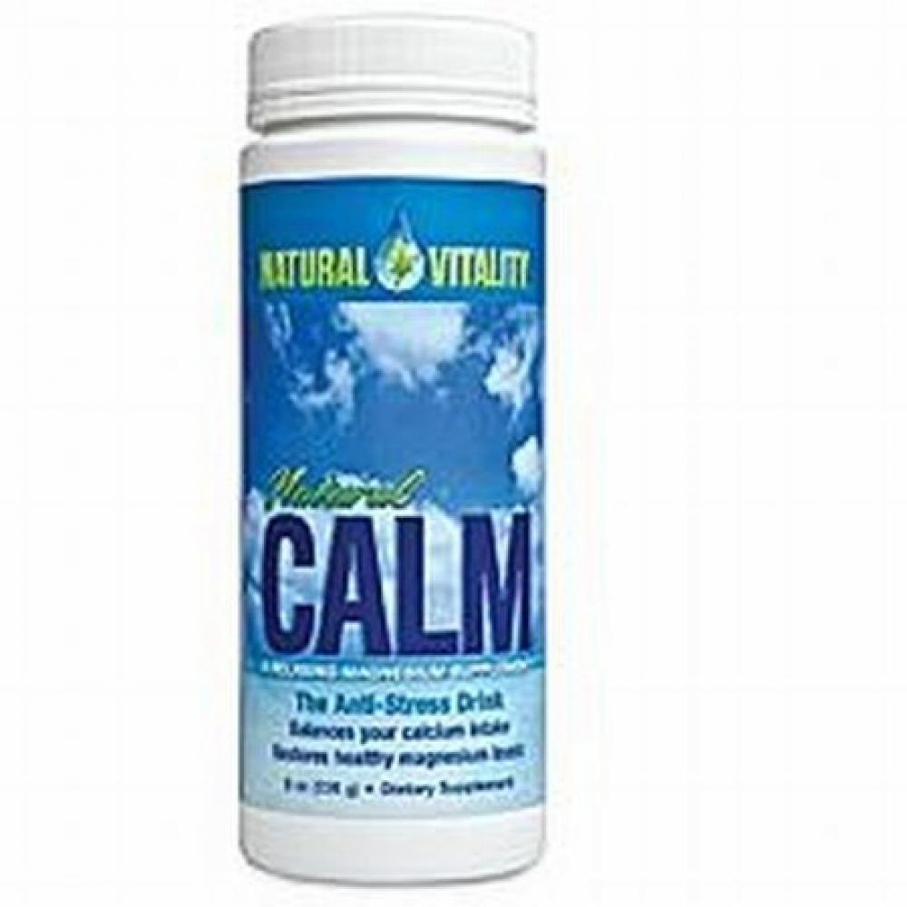 Natural Vitality Natural Calm - Superior Magnesium Powder 8 oz.