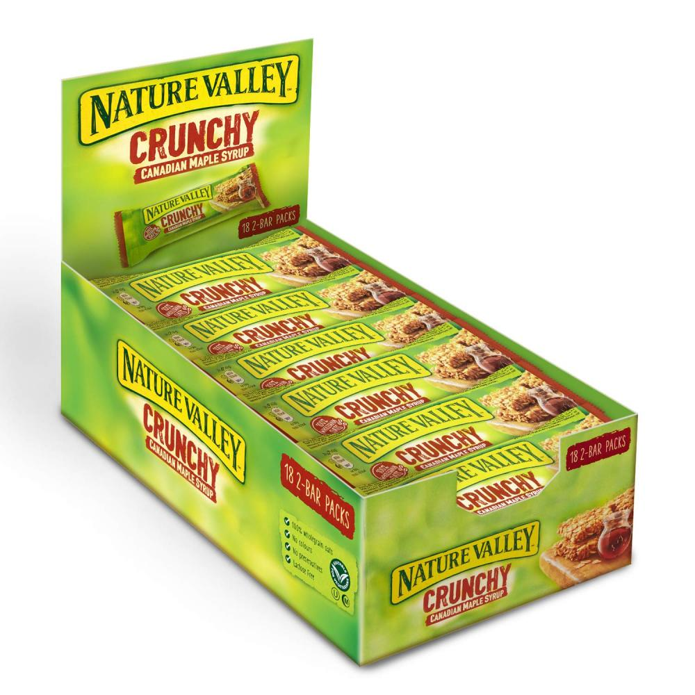 Nature Valley Crunchy Canadian Maple Syrup Cereal Bars 42 g