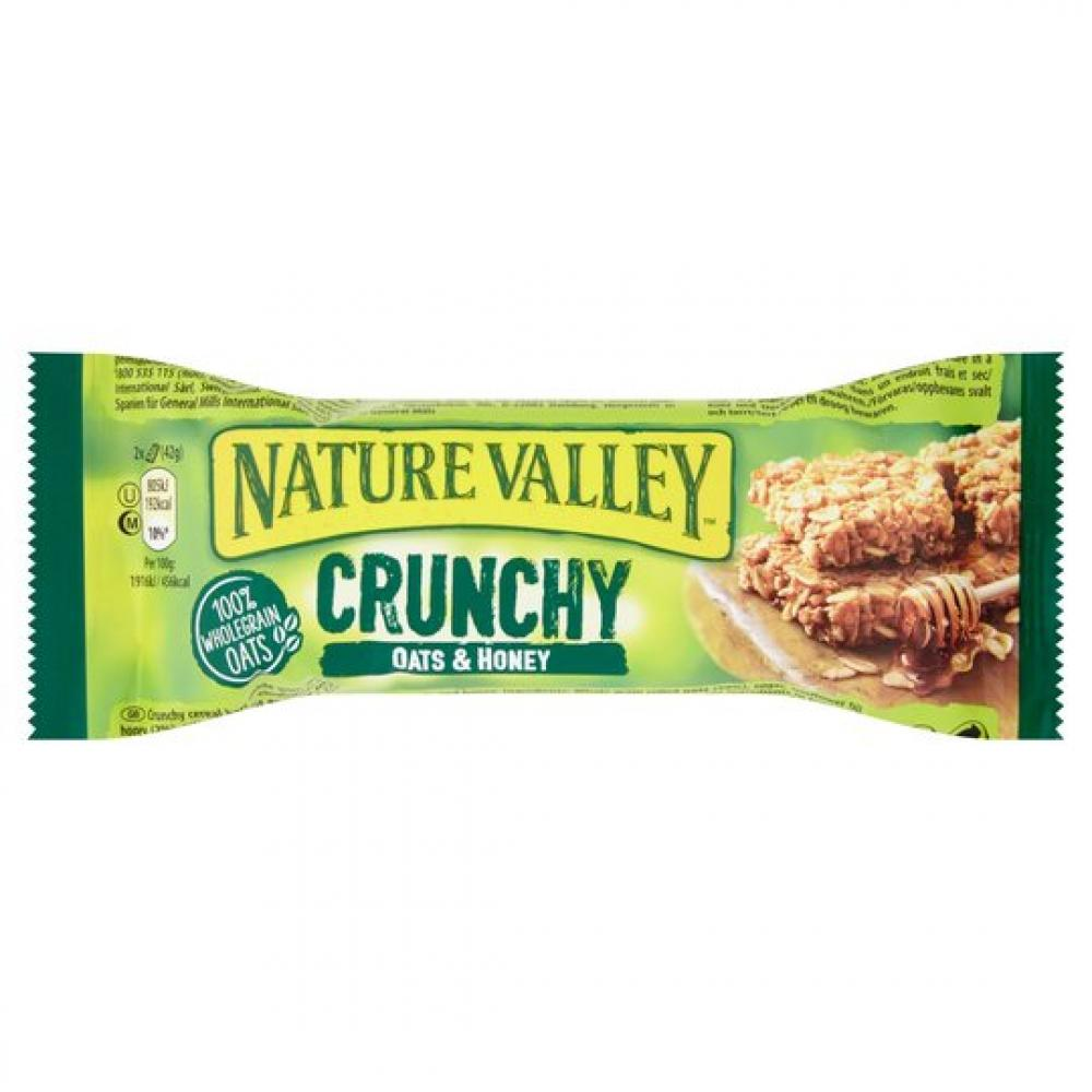 Nature Valley Crunchy Oats And Honey Cereal Bar 42g