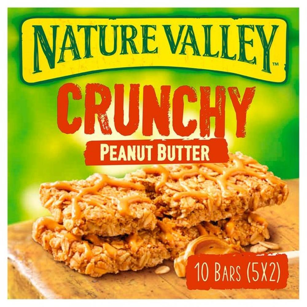 Nature Valley Crunchy Peanut Butter 10 Bars