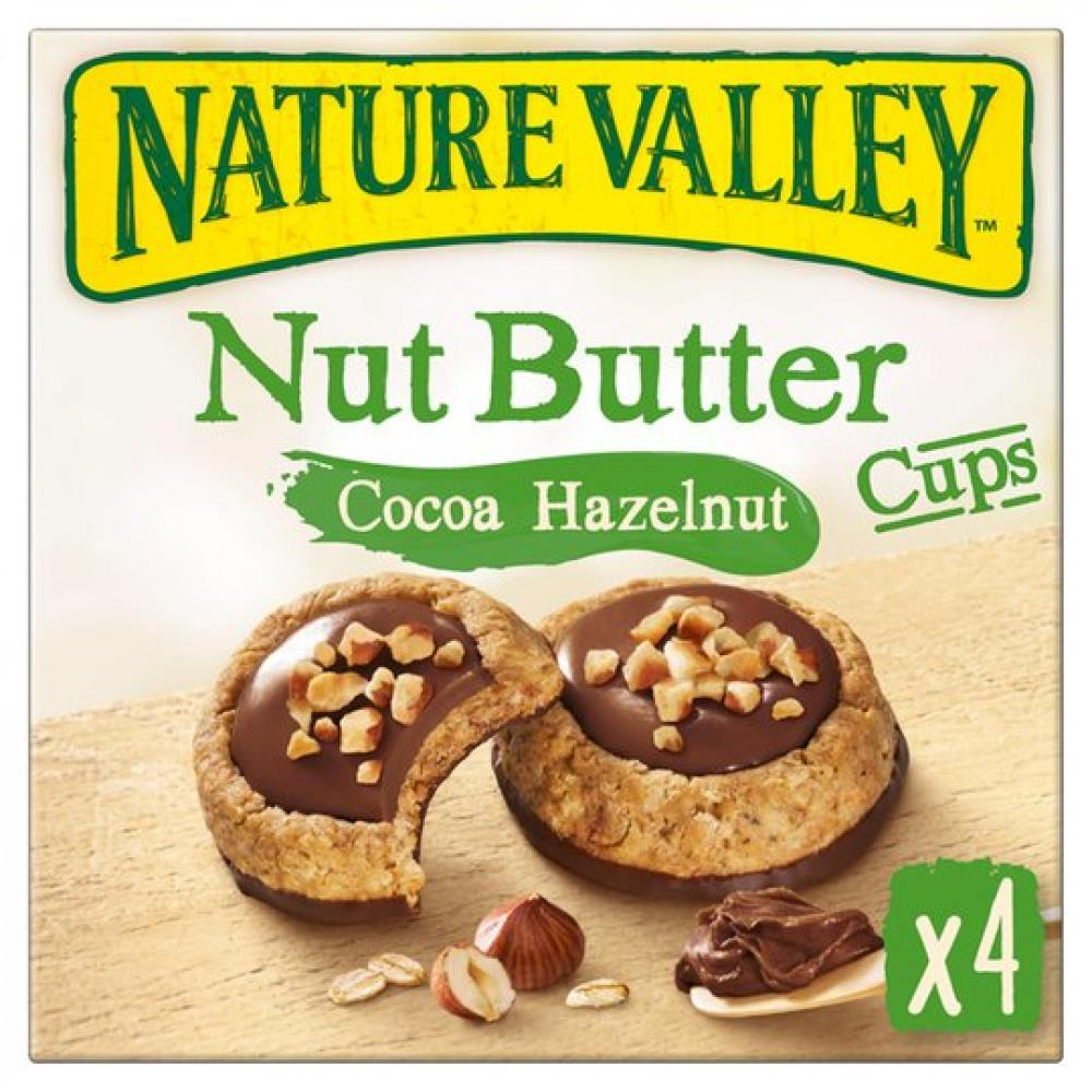 Nature Valley Nut Butter Cocoa Hazelnut 4 x 35g