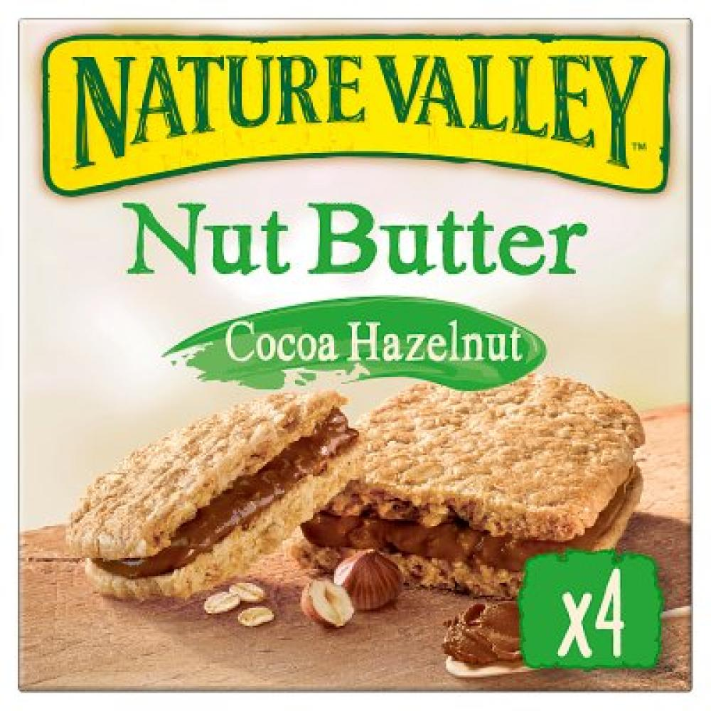 Nature Valley Nut Butter Cocoa Hazelnut 4x38g