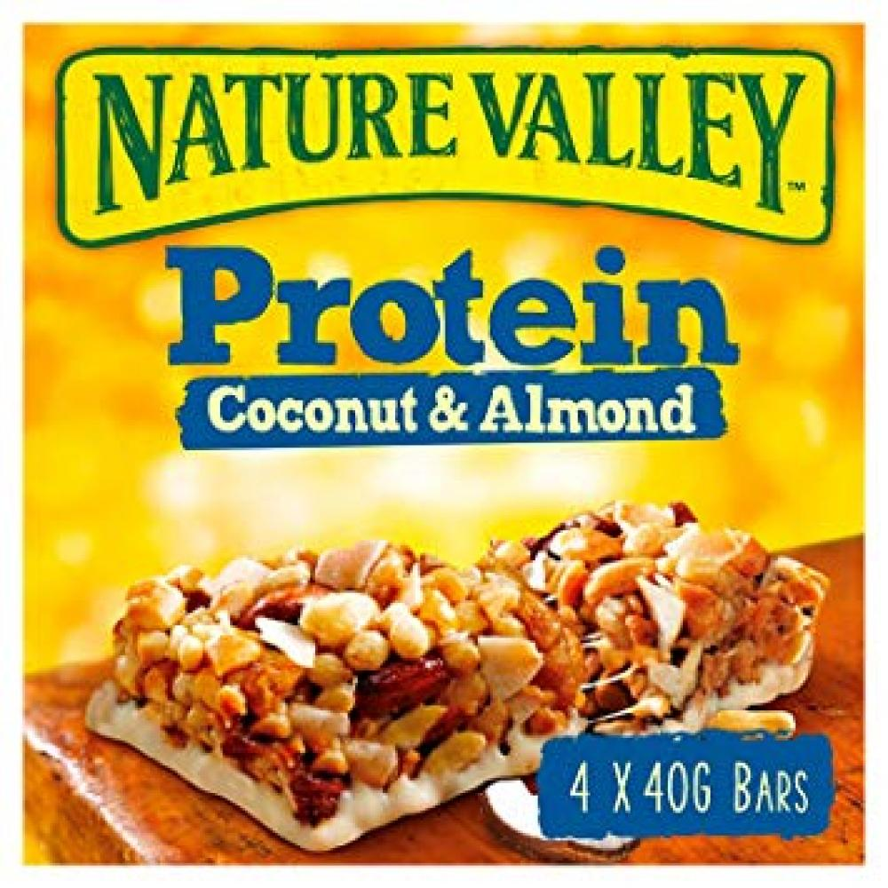 Nature Valley Protein Coconut And Almond 4x40g
