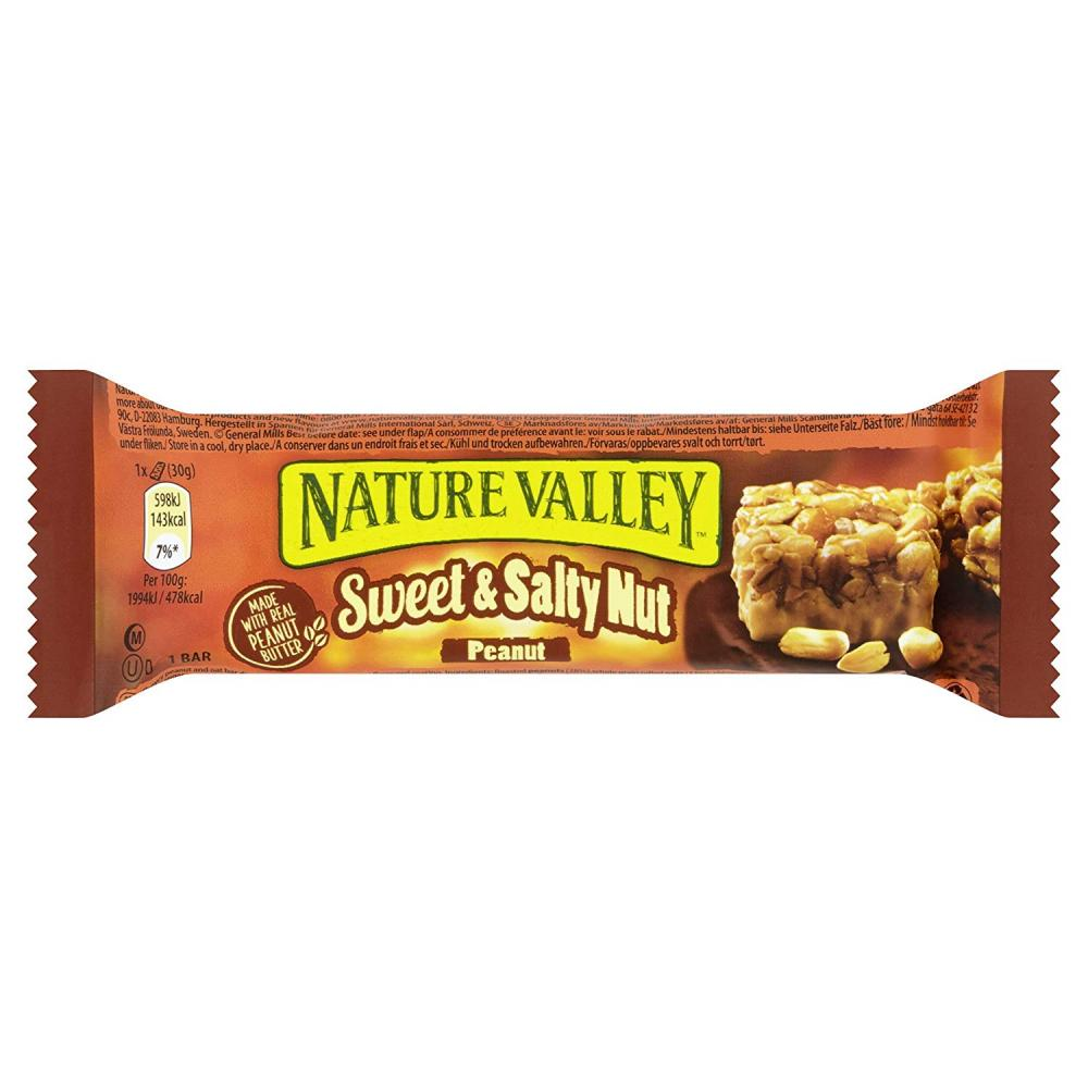 Nature Valley Sweet and Salty Nut Peanut Bar 30g