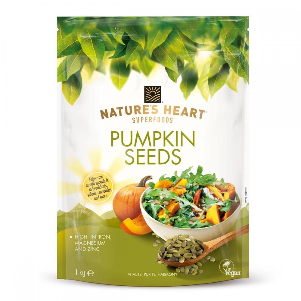 Natures Heart Pumpkin Seeds 1kg