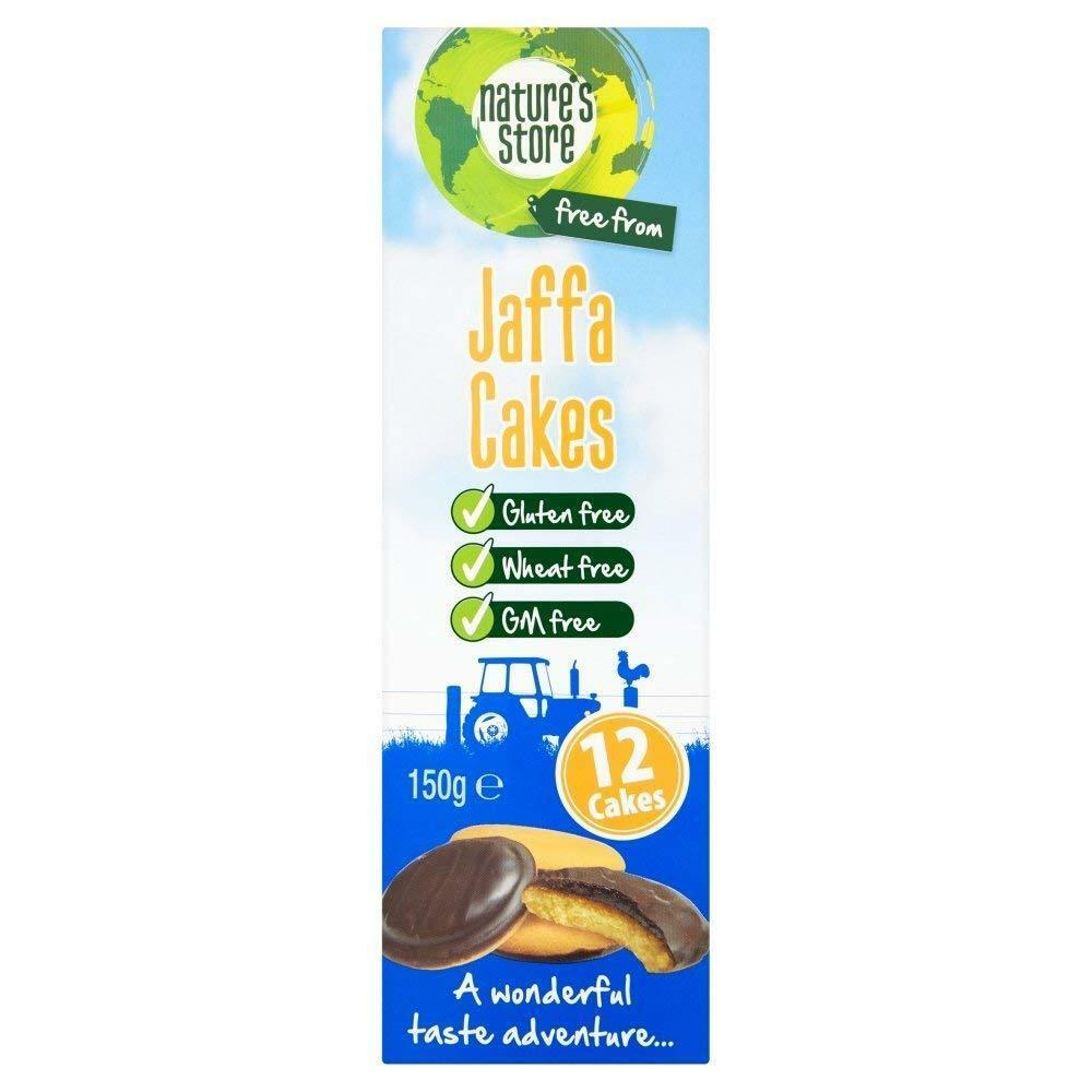Natures Store Jaffa Cakes With Orange Jelly 150g