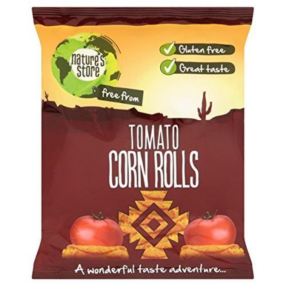 Natures Store Tomato Corn Rolls 100g
