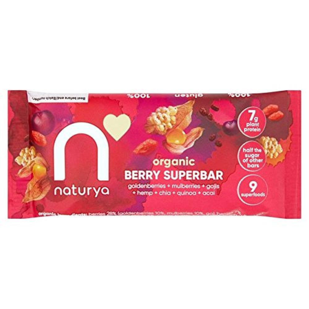 Naturya Organic Berry Superbar 40 g