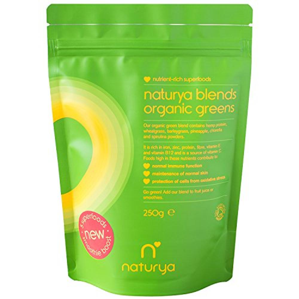 Naturya Organic Green Superfood Powder Blend 250g