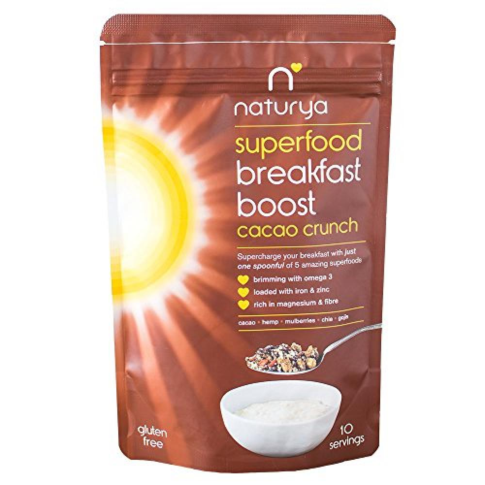 Naturya Superfood Breakfast Boost Cacao Crunch 150g