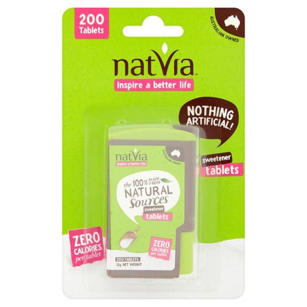 Natvia Sweetener Dispenser 200 Tablets