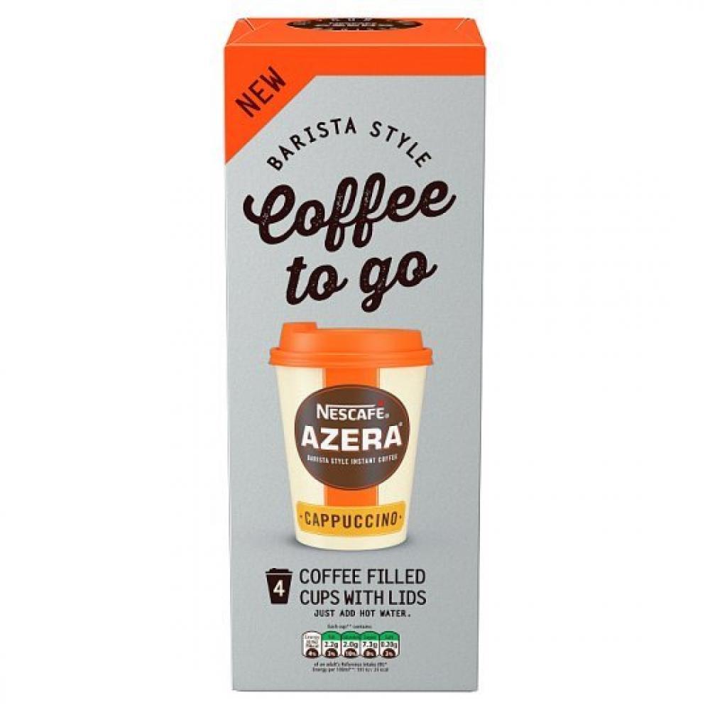 SUPER SATURDAY SALE  Nescafe Azera To Go Cappuccino 20g x 4