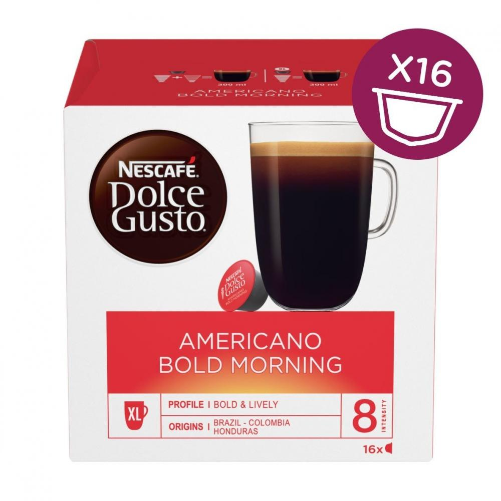 Nescafe Dolce Gusto Americano Blend Morning 8 Servings 160g